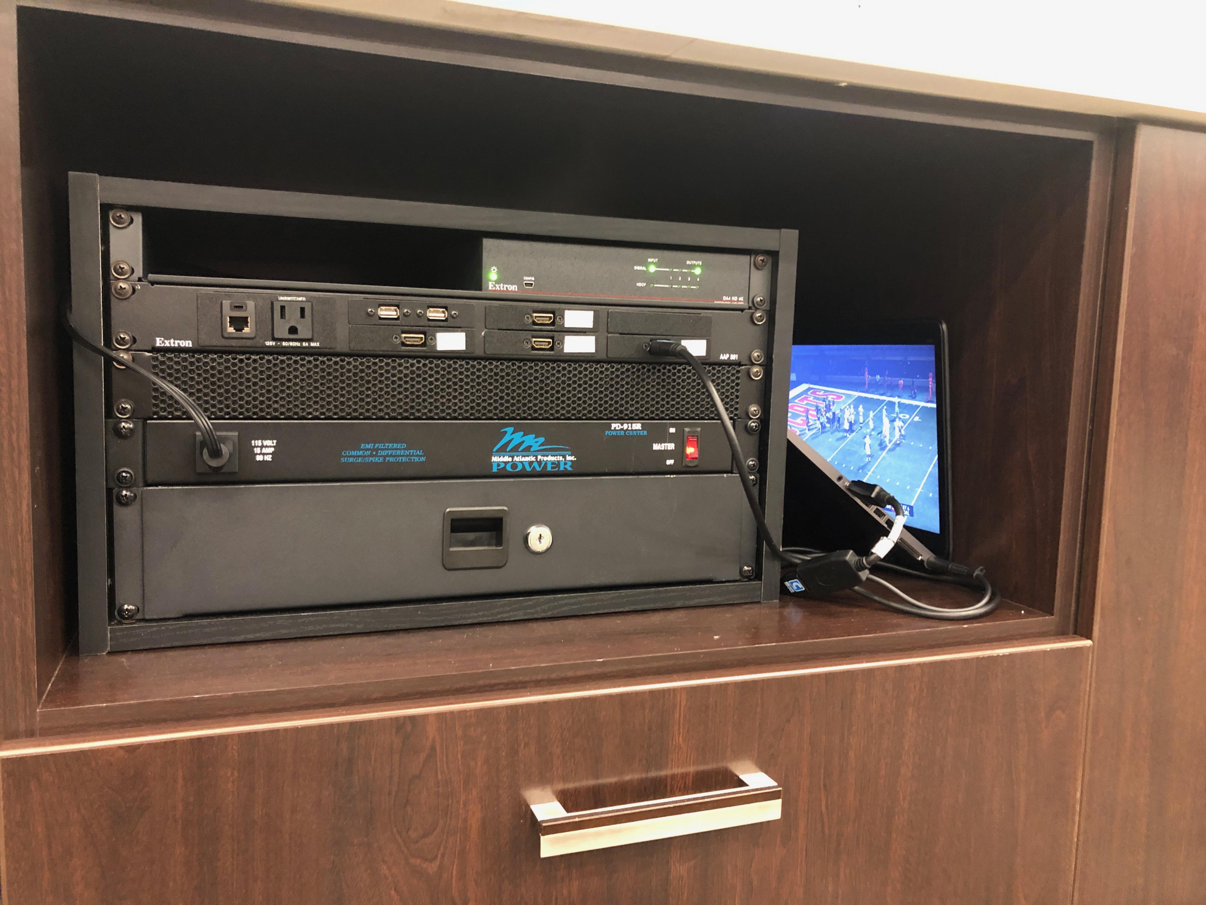 Room 202 HDMI distribution hub